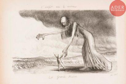 Jean Veber (1864-1928) La Grande Misère,...