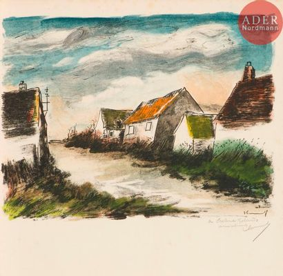 Maurice de Vlaminck (1876-1958) Montigny-sur-Avre....
