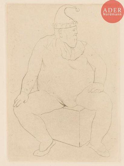 Pablo Picasso (1881-1973) Le Saltimbanque...