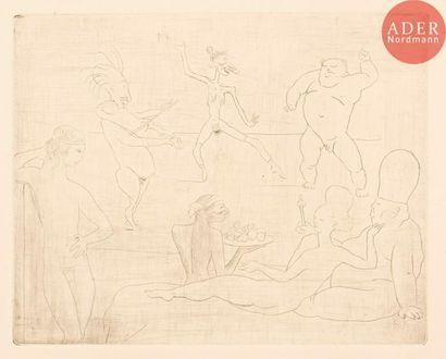 Pablo Picasso (1881-1973) La Danse. (Pl....