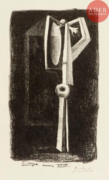 Pablo Picasso (1881-1973) Figure, ou Baigneuse...