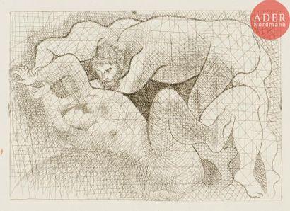 Pablo Picasso (1881-1973) Le Viol. (Suite...