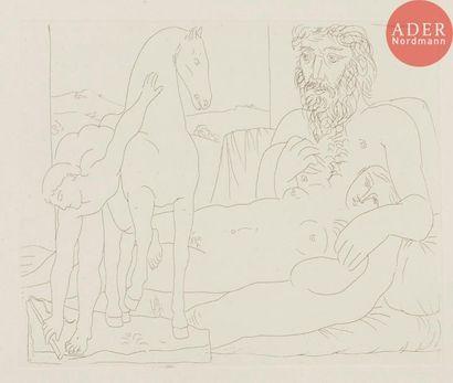 Pablo Picasso (1881-1973) Le Repos du sculpteur...