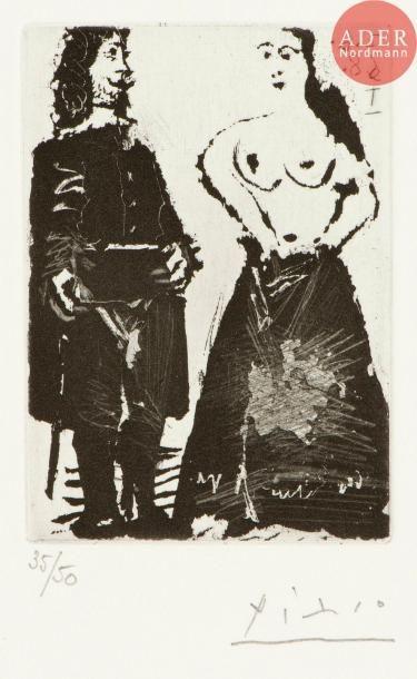 Pablo Picasso (1881-1973) Gentilhomme et...