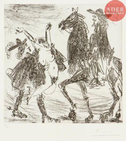 Pablo Picasso (1881-1973) Enlèvement II....