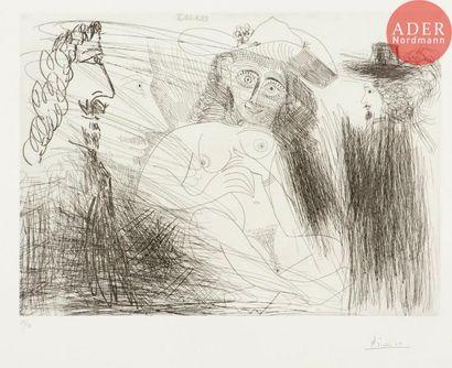 Pablo Picasso (1881-1973) Célestine, client...