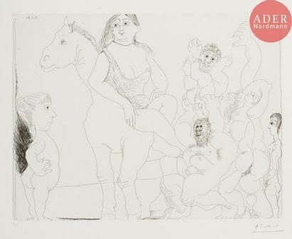 Pablo Picasso (1881-1973) Le Cirque de la...