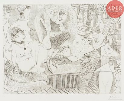 Pablo Picasso (1881-1973) Degas visionnaire:...