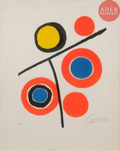 Alexander Calder (1898-1976) Composition....