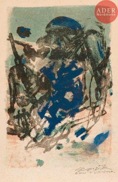 Chu Teh-Chun (1920-2014) Composition. Vers...