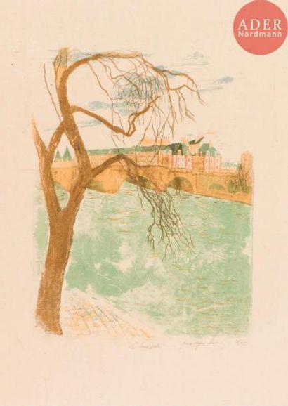 Pierre-Eugène Clairin (1897-1980) La Seine...
