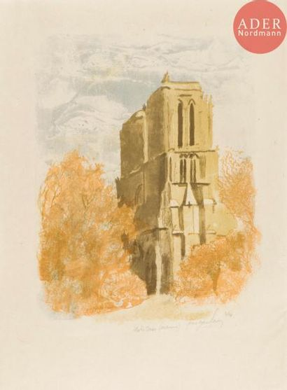 Pierre-Eugène Clairin (1897-1980) Notre-Dame...