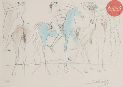 Salvador Dalí (1904-1989) Hamadryades mimétiques...
