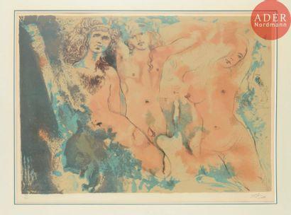 Salvador Dalí (1904-1989) Happy Days (Trois...