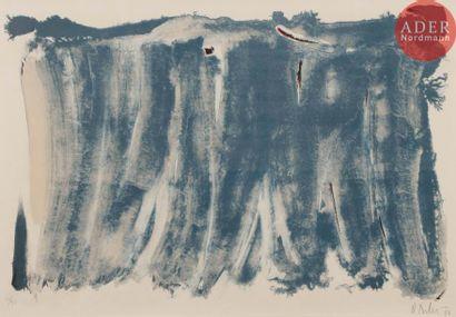 Olivier Debré (1920-1999) Signe-paysage....
