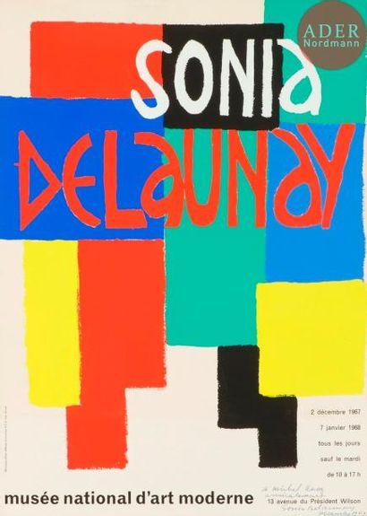Sonia Delaunay (1885-1979) Affiche pour l'exposition...