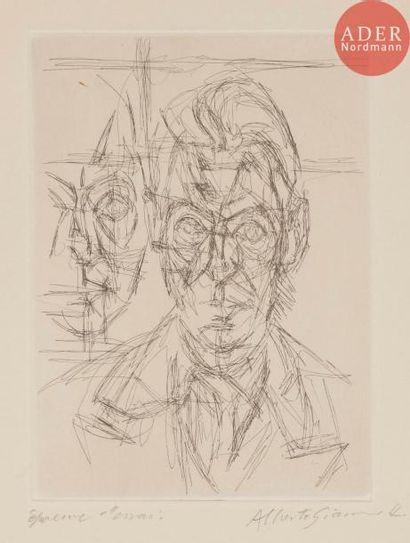 Alberto Giacometti (1901-1966) André du Bouchet...