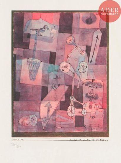 Paul Klee (1879-1940) (d'après) Analÿse verschiedener...