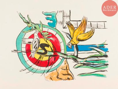 Fernand Léger (1881-1955) (d'après) Les Deux...