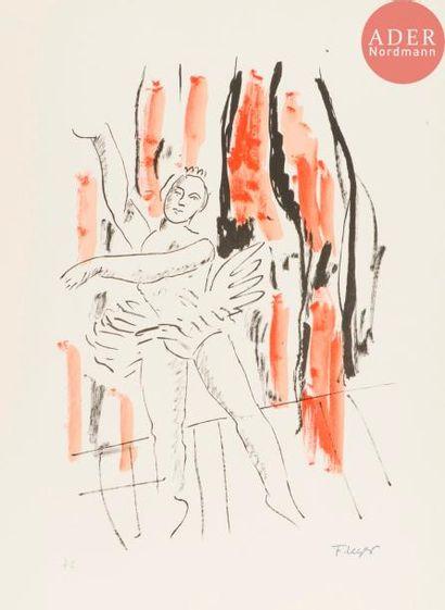 Fernand Léger (1881-1955) (d'après) La Danseuse....
