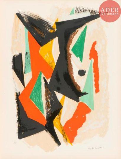 Marino Marini (1901-1980) Composizione. 1955....