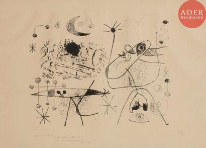 Joan Miró (1893-1983) Barcelona, pl. XLV...