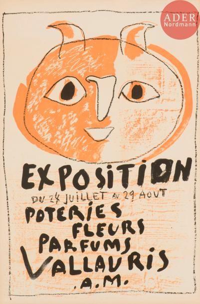 Pablo Picasso (1881-1973) Tête de faune....
