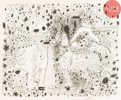 Pablo Picasso (1881-1973) L'Écuyère. 1960....
