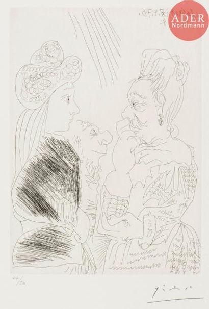 Pablo Picasso (1881-1973) La Bonne aventure,...