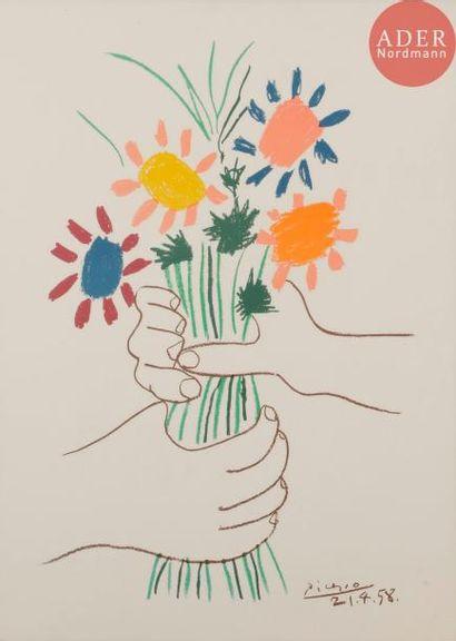 Pablo Picasso (1881-1973) (d'après) La Paix...