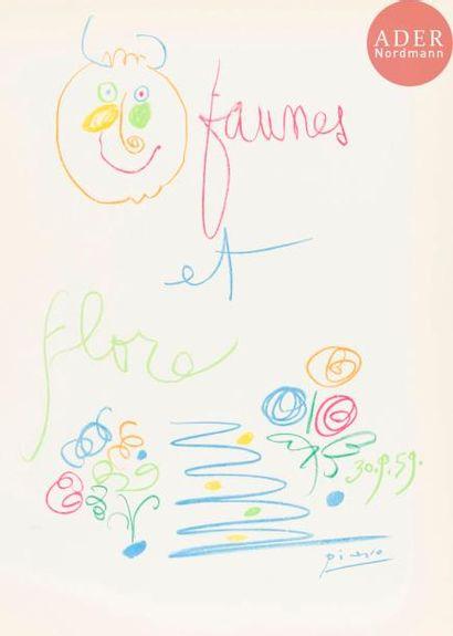 Pablo Picasso (1881-1973) (d'après) Faunes...