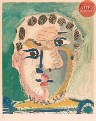 Pablo Picasso (1881-1973) (d'après) Tête...
