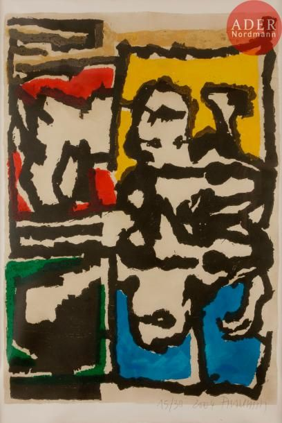 Jean-Pierre Pincemin (1944-2005) Composition....