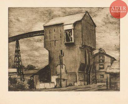 Jean-Baptiste Sécheret (né en 1957) La Mine...
