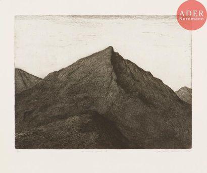 Jean-Baptiste Sécheret (né en 1957) Le Mont...