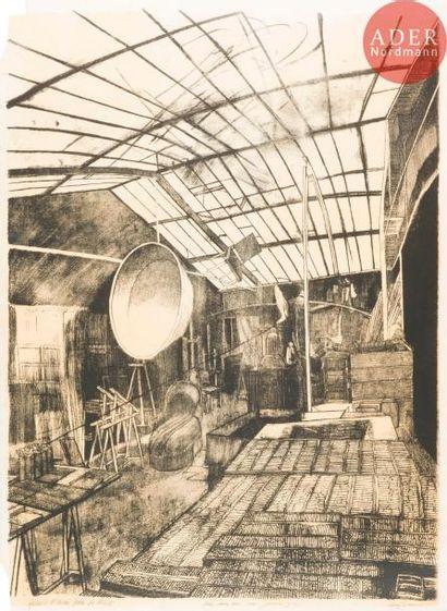 Sam Szafran (né en 1934) L'Atelier de la...