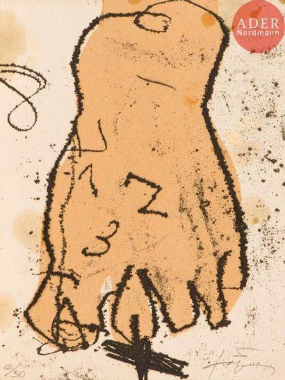 Antoni Tàpies(1923-2012) Pl. pour Material...