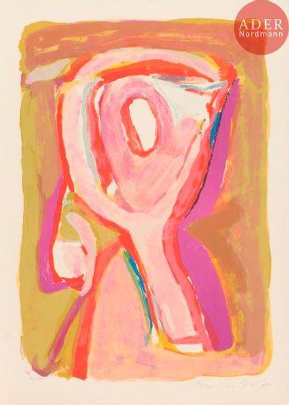 Bram van Velde (1895-1981) Crépuscule. 1969....