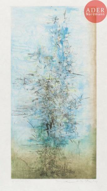 Zao Wou-Ki (1920-2013) Composition. 1959....