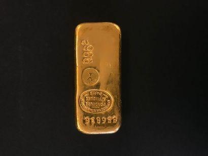 1 lingot d'or, 856836. Frais acheteur : 8%...