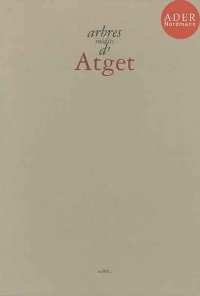 ATGET, EUGENE (1857-1927) Arbres inédits...