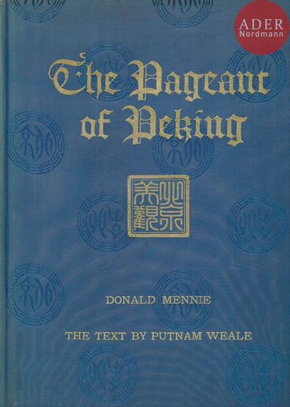 MENNIE, DONALD (1875-1941)? The pageant of...