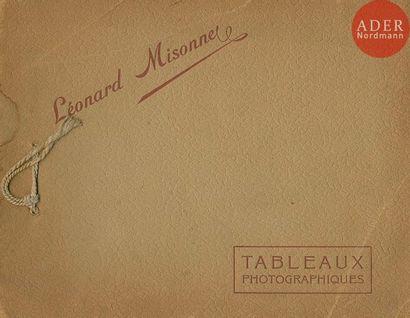 MISONNE, LÉONARD (1870-1943) Tableaux photographiques....