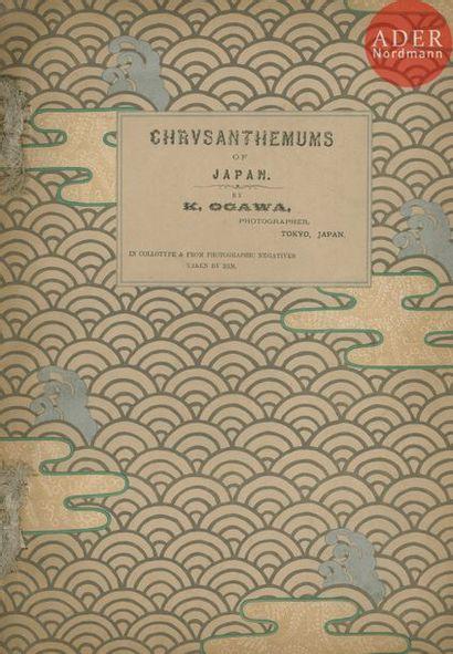 OGAWA, K. (1860-1929) Chrysanthemums. Tokyo,...
