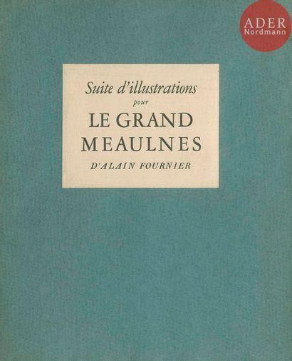 ALBIN GUILLOT, LAURE (1879-1962). Suite d'illustrations...