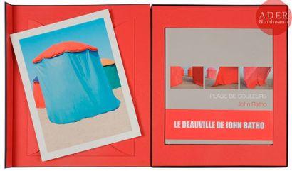 BATHO, JOHN (1939) Plage de couleurs. Éditions...