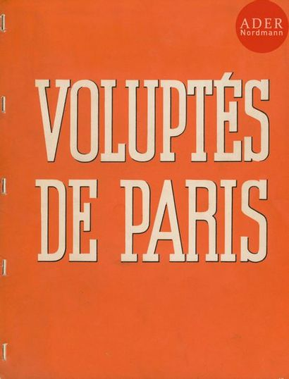 BRASSAÏ (GYULA HALASZ, DIT) (1899-1984) Voluptés...