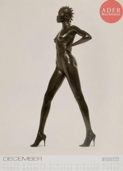 CALENDRIER PIRELLI 1999 Herb RITTS Women...