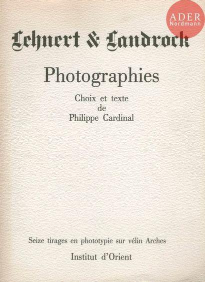 LEHNERT, RUDOLF FRANZ (1878-1948) LANDROCK,...