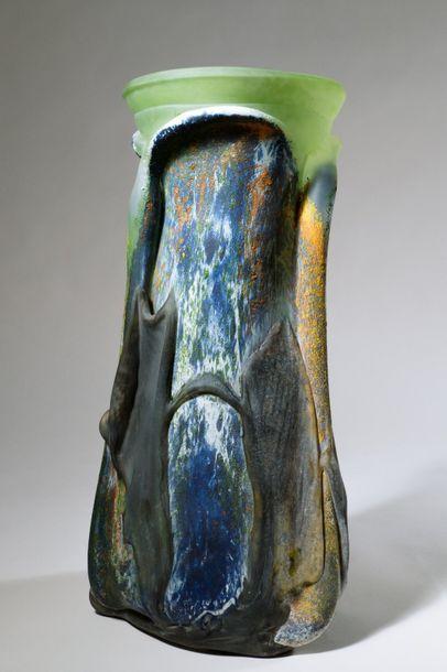 Jean-Claude NOVARO (1943-2015){CR}Vase en...